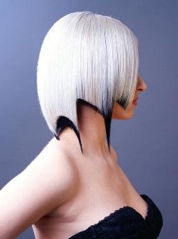 Модельная стрижка женская